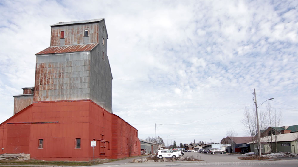 Co-Op Grain Elevator - Sandpoint, Idaho